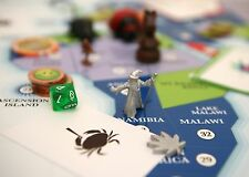 CANNABIS MARIJUANA BOARD GAME GB DE LUXE EDITION AROUND THE WORLD IN 80 TOKES UK