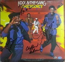 Kool and the Gang Autographed James Taylor Robert Ball +3 Album Hand Signed COA