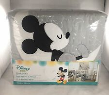 Disney Baby Mickey Mouse 4-Piece Crib Bedding Set Gray Yellow by Lambs & Ivy