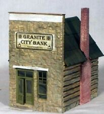 S/Sn3 WISEMAN MODEL SERVICES S4010 BANK OR CAFE CRAFTSMAN STRUCTURE KIT