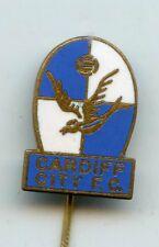 British FOOTBALL CARDIFF CITY FC vintage enamel stick pin badge