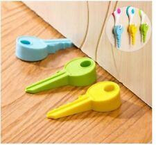 Set of 3 Funny KEY Desig DOOR STOPPER Set Kit Safety Guard Holder Doorstop Wedge
