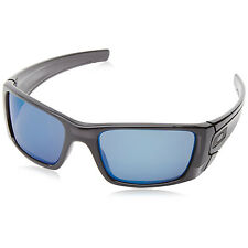 Oakley Fuel Cell Polarized Iridium Sunglasses Polished Black Ink Frame Ice Lens
