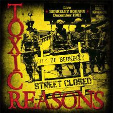Toxic Reasons – Live Berkeley Square December 1981 LP Vinyl / New (2014) Punk