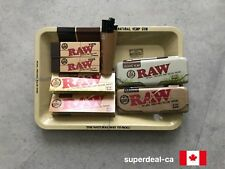 RAW TRAY COMBO - Tray, Classic+Organic Papers, 2 Cases, 2 Tips, Micro Lighter