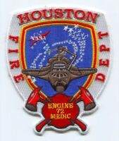 Houston Fire Department Station 72 Patch Texas TX NASA Space Shuttle