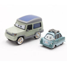 Disney Pixar Cars Miles Axlerod & Professor Z 2pcs Diecast Vehicle New No Box
