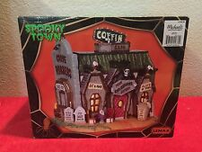 Lemax SPOOKY TOWN COFFIN CAFE - Brand New In Box