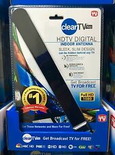 Clear TV Key HDTV Digital Indoor Antenna As Seen on TV =Shelf Pulled / Returned=