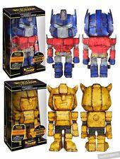 FUNKO Transformers Battle Ready OPTIMUS PRIME & BUMBLEBEE Hikari Sofubi LOT Set