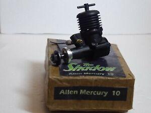 A.M 10 Black Shadow Model Diesel Engine, Air,Tether Car,Boat - Rare AMNWR READ!!