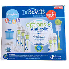 New listing Dr. Brown's Options+ Anti-colic Bottle Set-Blue-Free Shipping!