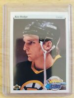 1990-91 Upper Deck YOUNG GUNS RC Ken Hodge Boston Bruins Card #529