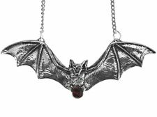 Nuevo Collar Colgante Murciélago galraedia Zotz Grande De Cristal Rojo GA13