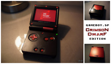 Nintendo Game Boy Advance GBA SP Black Red System AGS 101 Brighter MINT NEW