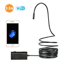 DEPSTECH WF010 Wireless Endoscope IP67 2.0MP HD Snake Camera WiFi Borescope