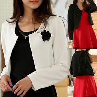 Womens Ladies Top Blouse Cardigan Dress Jacket Coat AU Size 10 12 14 16 18 #1499