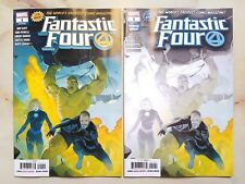 FANTASTIC FOUR #1 2018 RIBIC PREMIERE VARIANT + REGULAR COVER MARVEL COMICS LOT