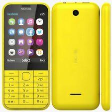 "NEW CONDITION Nokia 225 2.8"" 2MP Dual SIM UNLOCKED YELLOW MOBILE PHONE"