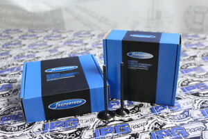 Supertech OverSize Valves Set Intake Exhaust Fits 2000-2006 Mini Cooper S 1.6L