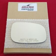 Mirror Glass + Adhesive For Volvo C30, C70, S40, S60, S80, V50 Passenger Side