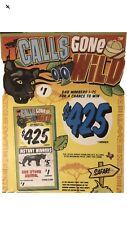 Calls Gone Wild (600 count Pull Tabs)Profit 💲160 (Casnio/Bingo ticket)