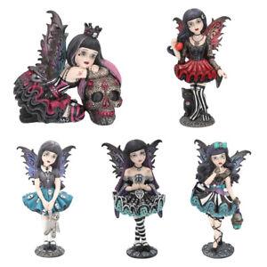 Nemesis Now Little Shadows Noire, Lolita, Mystique, Hazel Gothic Fairy Ornaments