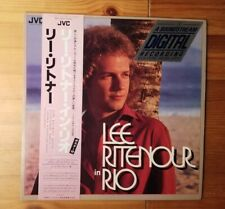 Lee Ritenour in Rio Vinyl LP Japanese Pressing JVC VIJ-6312 VG+/VG+