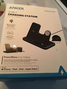 Anker PowerWave 4-in-1 Wireless Charging Station for Apple Watch iPhone Free
