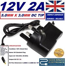 12V UK Mains Charger Power Supply Lead To Fit Makita BMR 102 BMR102 Site Radio