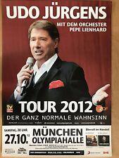 UDO JÜRGENS  27.10.2012 MÜNCHEN - orig.Concert Poster -- Konzert Plakat  A1 NEU