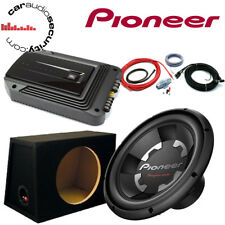 "Pioneer TS-W300S4 12"" Subwoofer and JBL Amplifier Package Deal 1400 Watts"