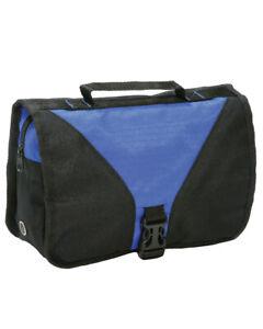 UNISEX FOLDING TRAVEL TOILETRY BAG POUCH  HOLIDAY SPORTS GYM MIRROR HGSH4476BTC