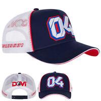 2020 Andrea Dovizioso MotoGP Baseball Cap Blue & White Hat Adults One Size