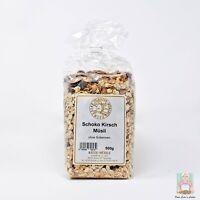Frisches Schoko-Kirsch-Müsli vom Hofladen | Hochwertige Cerealien | 500g