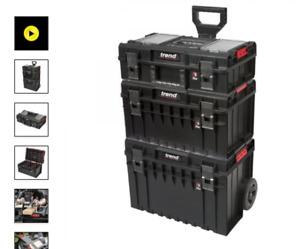 Trend MS/P/SET3C Pro Modular Storage 3 Piece Cart Set
