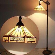 "Tiffany Malaga 12"" Hanging Floor Standing Reading Lamp"