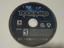 Rock Band (Sony PlayStation 3, 2007) Game Disc Only