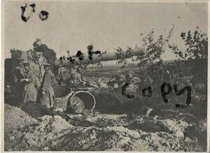British Officer Observer ? Russo Japanese War Heavy Artillery camouflaged