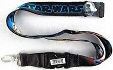 Star Wars The Last Jedi Space Scene X-Wing Millennium Falcon Lanyard Key Chain