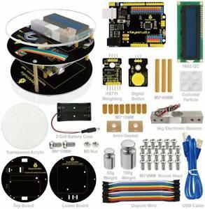 KEYESTUDIO Electronics Weighing Coding Scale DIY Starter Kit for Arduino UNO EU