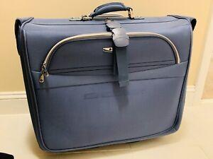 "Delsey Blue Deluxe Garment Bag - 5"" x 24"" x 45"""