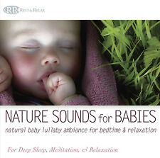 NATURE SOUNDS FOR BABIES CD Baby lullaby for bedtime Lullabies Baby Music CD NEW