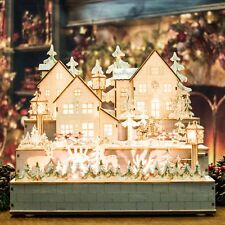 Winter Village German Wooden Christmas Decoration (30cm)
