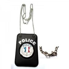 Porte insigne chaîne Police nationale