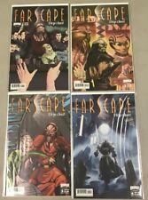 BOOM! STUDIOS FARSCAPE: D'ARGO'S QUEST #1 2 3 4 COMPLETE MINI SERIES B COVERS