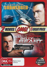 Submerged / Belly Of The Beast - Action / Thriller - Steven Seagal - NEW DVD