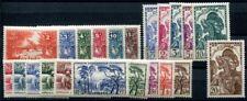 GUINEE 1938 Yvert 125-146 ** POSTFRISCH TADELLOS SATZ (F0585