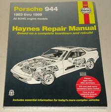 Reparaturanleitung Porsche 944 + 944 Turbo, Baujahre 1983 - 1989
