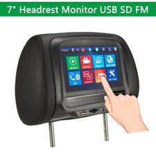 "7""  LCD  Screen Car Headrest MP5 Player Back Seat Monitor USB FM Mirror Link"